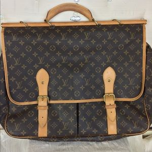 LV carry on traveling bag